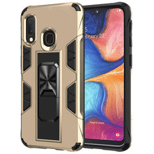 Load image into Gallery viewer, 2020 Luxury Magnet Kickstand Car Holder Ring Phone Case For SAMSUNG A20E