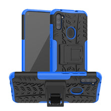 Load image into Gallery viewer, Rubber Hard Armor Cover Case For Samsung Galaxy A11
