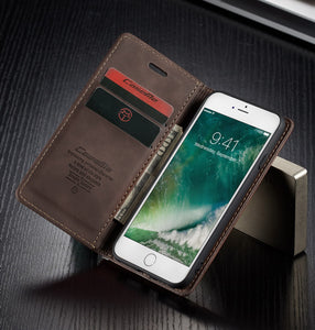 【2021 NEW】CaseMe Retro Wallet Case For Apple iPhone 7Plus/8Plus