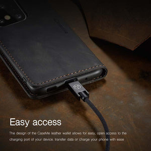 2021 New Retro Wallet Case For Samsung S20Ultra