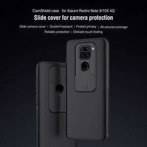 【Black Mirror】Luxury Slide Phone Lens Protection Case for Redmi NOTE 9