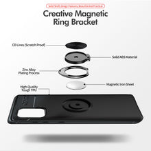 Load image into Gallery viewer, Car Holder Stand Magnetic Bracket Case Finger Ring TPU Case For Samsung S20 Series