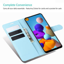 Load image into Gallery viewer, Lychee Pattern Wallet Phone Case For Samsung S20FE/S20Ultra/S10Plus