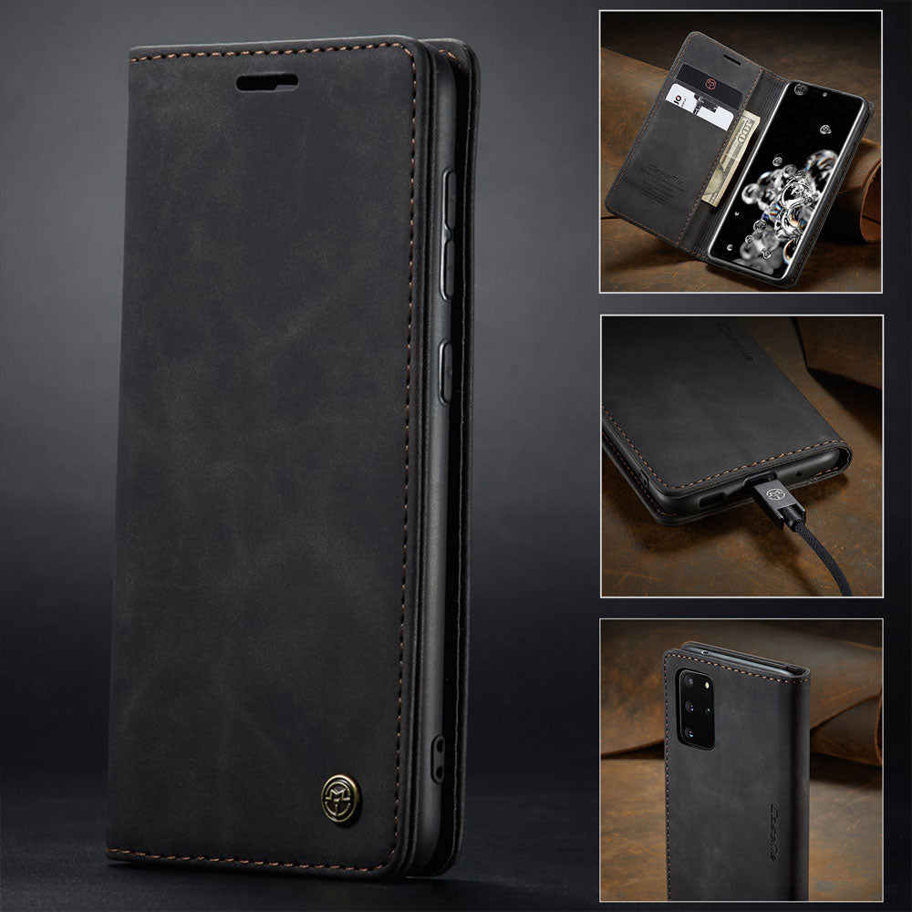 【2021 NEW】CaseMe Retro Wallet Case For Samsung S20 Plus