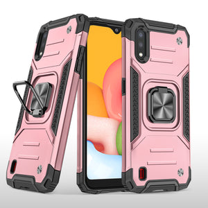 2021 Vehicle-mounted Shockproof Armor Phone Case  For SAMSUNG Galaxy A01
