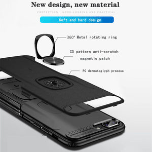 Classic 3 in 1 Magnetic Finger Ring Phone Case  For Samsung Galaxy A80