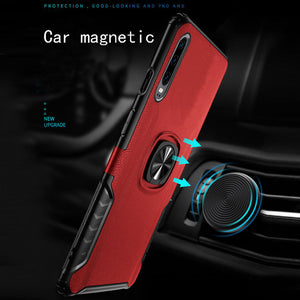 Classic 3 in 1 Magnetic Finger Ring Phone Case For HUAWEI P30/P30PRO/P30Lite