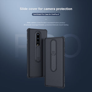 【Black Mirror】Luxury Slide Lens Protection Case for Oneplus 8