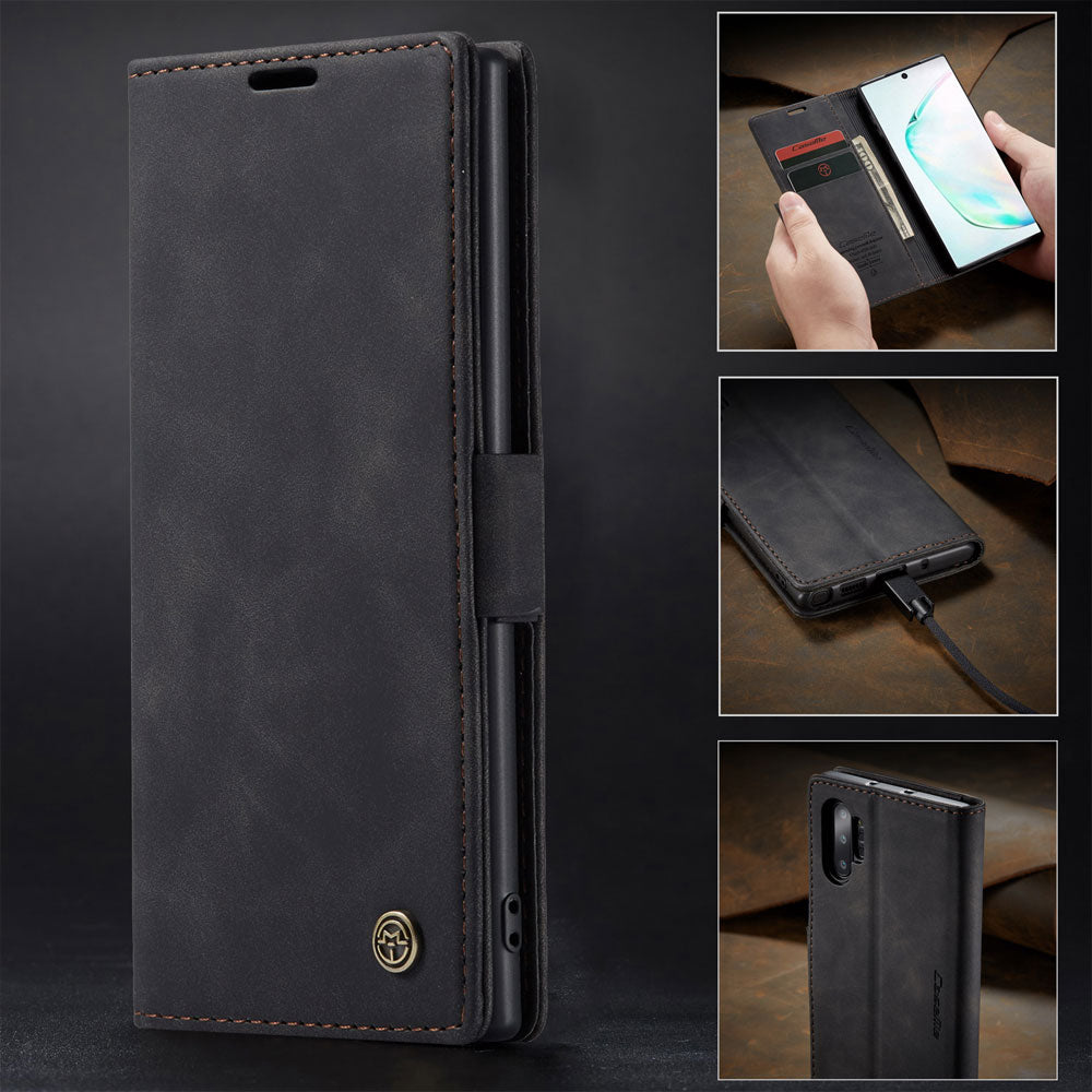 【2021 NEW】CaseMe Retro Wallet Case For Samsung Note 10 Plus