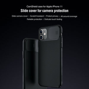 【Black Mirror】Luxury Slide Phone Lens Protection Case for iPhone 11