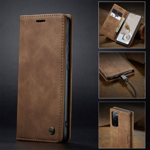 CaseMe Retro Wallet Case For Samsung S20 FE