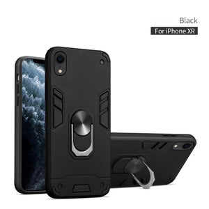 2020 All New 4-in-1 Special Armor Phone Case For iPhone XR
