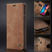 Load image into Gallery viewer, 【2021 NEW】CaseMe Retro Wallet Case For Samsung A20/A30