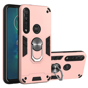 2020 All New 4-in-1 Special Armor Case For Motorola G8 PLUS