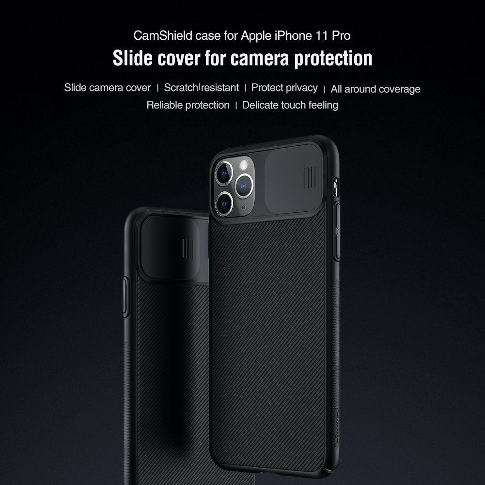 【Black Mirror】Luxury Slide Phone Lens Protection Case for iPhone 11PRO/11PRO MAX