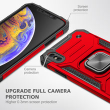 Load image into Gallery viewer, 2021 Vehicle-mounted Shockproof Armor Phone Case  For iPhone X
