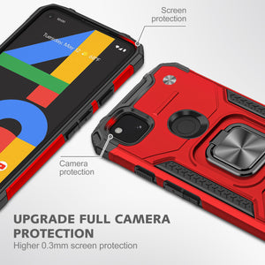 Vehicle-mounted Shockproof Armor Phone Case  For Google Pixel 4A
