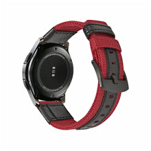 Load image into Gallery viewer, Warrior Series Jeep Nylon With Leather  Watch Strap/Watch Bands