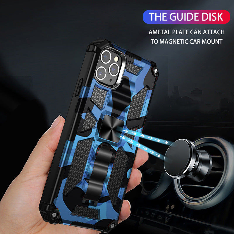 2021 New Luxury Armor Shockproof With Kickstand For iPhone 12Pro