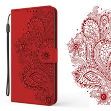 Load image into Gallery viewer, Peacock Embossed Imitation Leather Wallet Phone Case For Oppo A5(2020)/A9(2020)