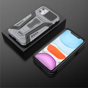 Chariot Magnetic Bracket Phone Case For iPhone 12 Series