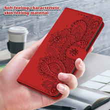 Load image into Gallery viewer, Peacock Embossed Imitation Leather Wallet Phone Case For iPhone