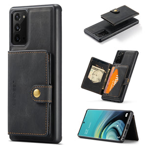 New Magnetic Wallet Phone Case für Samsung Note 20 / Anmerkung 20Ultra