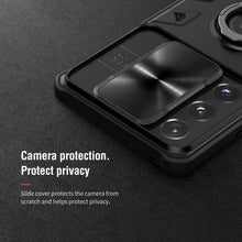 Load image into Gallery viewer, 【Black rhino】Luxury Sliding Lens Protection ring holder case for Samsung S21ULTRA 5G