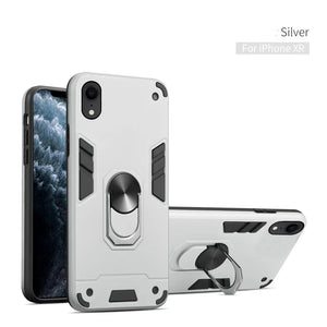2020 All New 4-in-1 Special Armor Case For iPhone XR