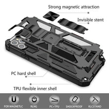 Load image into Gallery viewer, Luxury Armor Shockproof With Kickstand For iPhone