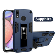 Load image into Gallery viewer, 2021 Upgraded Invisible Bracket Armor Warrior 2-in-1 Case For Samsung Galaxy A20/A30