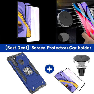 2021 Vehicle-mounted Shockproof Armor Phone Case  For SAMSUNG Galaxy A21