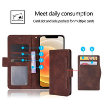 Load image into Gallery viewer, Luxury Multi-Card Slots Wallet Flip Cover For LG Stylo 6
