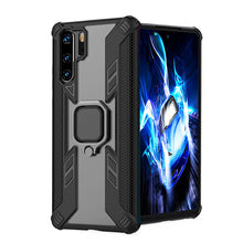 Laden Sie das Bild in den Galerie-Viewer, Warrior Style Magnetic Ring Kickstand Phone Cover für Huawei P30 Pro