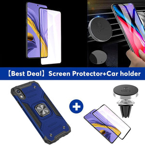 2021 Vehicle-mounted Shockproof Armor Phone Case  For iPhone XR