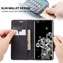 Load image into Gallery viewer, 2021 New Retro Wallet Case For Samsung S20Ultra