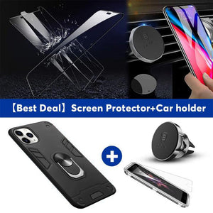 2020 All New 4-in-1 Special Armor Shockproof Phone Case Para iPhone 11