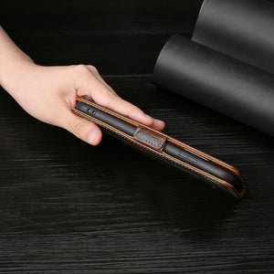 Flip Magnetic Soft Leather Wallet Cover Case For LG