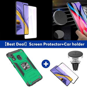 2021 Vehicle-mounted Shockproof Armor Phone Case  For SAMSUNG A20