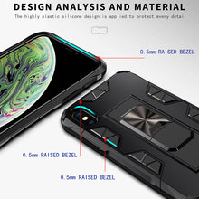 Load image into Gallery viewer, 2020 Luxury Magnet Kickstand Car Holder Ring Phone Case For iPhone XS
