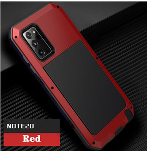 Luxury Doom Armor Waterproof Metal Aluminum Phone Case For Samsung NOTE20