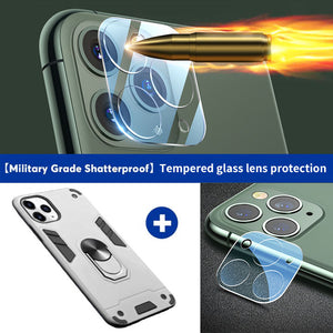 2020 iPhone 11 Series All New  4-in-1 Special Armor Case With Lens protection