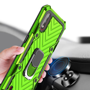 SAMSUNG Galaxy A01-Lightning Armor Ring Holder Phone Case