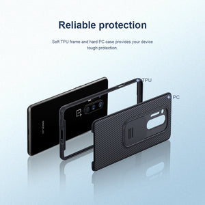 【Black Mirror】Luxury Slide Lens Protection Case for Oneplus 8PRO