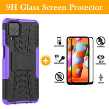Load image into Gallery viewer, Rubber Hard Armor Cover Case For Samsung Galaxy A12