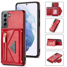 Load image into Gallery viewer, 2021 Cross Pattern Embossed Magnetic Imitation Leather Phone Case For iPhone 12 Series