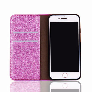 2021 New Bling Glitter Diamond Wallet Flip Case For iPhone