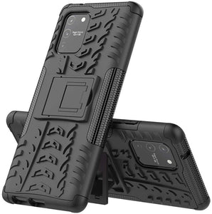 Rubber Hard Armor Cover Case For Samsung Galaxy S10/S10 Plus/S10E/S10 Lite