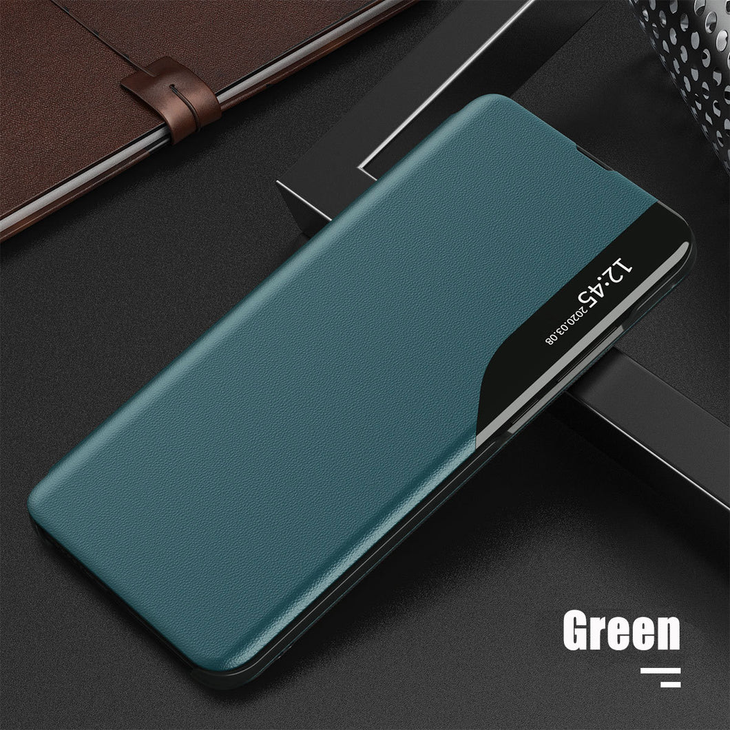 Luxury Smart Window Magnetic Flip Leather Case For Samsung A51