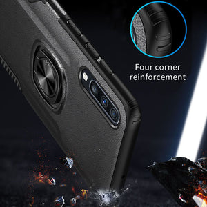 Classic 3 in 1 Magnetic Finger Ring Phone Case  For XiaoMi 9/9Lite
